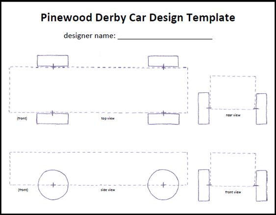 Pics Photos Pinewood Derby Car Templates Pdf 0Crd0R68 Soapbax - pinewood derby template
