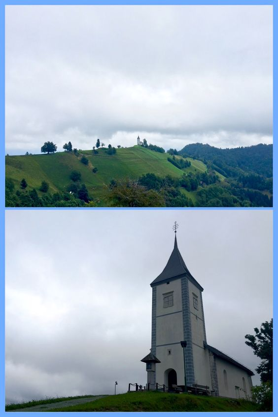 KRANJ, ZGORNJA BESNICA, SLOVENIA The Church of St. Primus & St. Felician in the village of Jamnik is considered as one of the most picturesque Slovenian historical monuments, with first written documents of the church in 1501.  Follow also www.instagram.com/voteltravels
