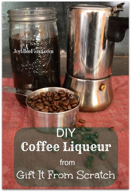... your own Kahlua Coffee Liqueur | Liqueurs, Coffee and DIY and crafts