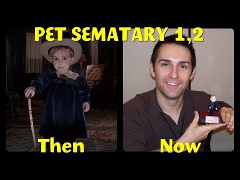 Pet Sematary Cast Then And Now Youtube