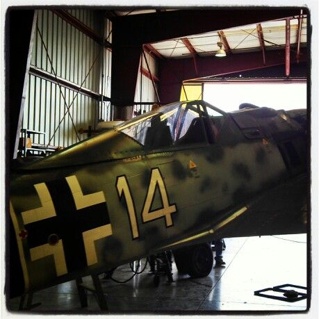 "German Focke-Wulf FW-190A: ""der Wuerger"" (Butcher Bird"")."
