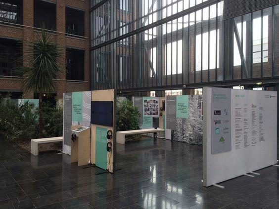 L'#ExpoWave enfin montée :: A découvrir à Lille du 14 au 21 avril 2015 :: Plus d'infos sur : http://www.wave-innovation.com/lille/ :: #WaveLille #Innovation