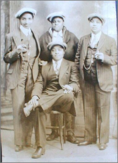 Blacks persons old picture Year: ?