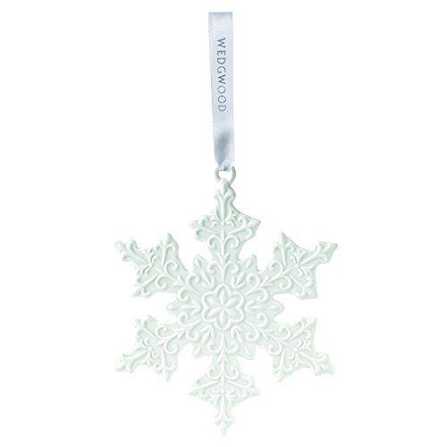 Wedgwood Snowflake, White