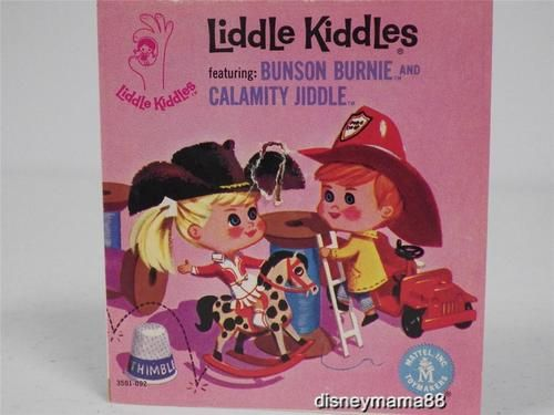 Mattel Liddle Kiddle Comic Book with Bunson Burnie Calamity Jiddle 3501 092 | eBay
