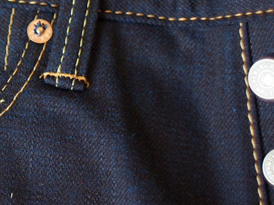 Momotaro Jeans 0305-14 Cobalt Blue Weft - Momotaro jeans - Denim Heads - Only The Best