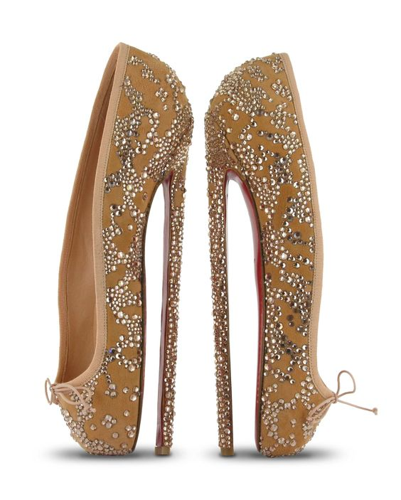 Ballerina high heels christian louboutin I wonder Is it possible