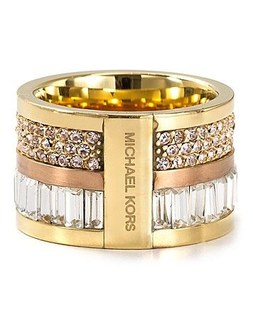 Michael Kors Barrel Ring - Jewelry & Accessories - Bloomingdale's