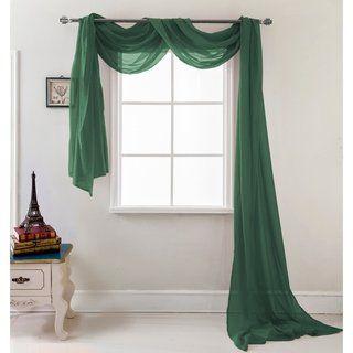 Sheer Curtain Scarf