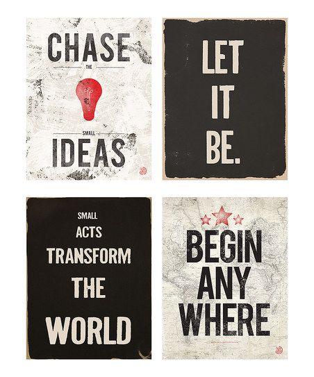 Ideas Print Set