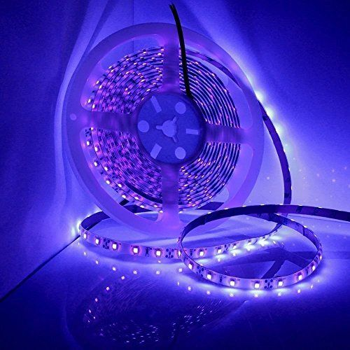 Uv Ultraviolet Black Light Led Strip Light Waterproof Ip6 Led Lighting Bedroom Black Lights Bedroom Black Light Led
