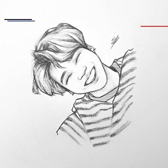 Pin By Vicka Lifetime On Pencil Art Drawings In 2020 Kpop Drawings Fan Art Drawing Drawings