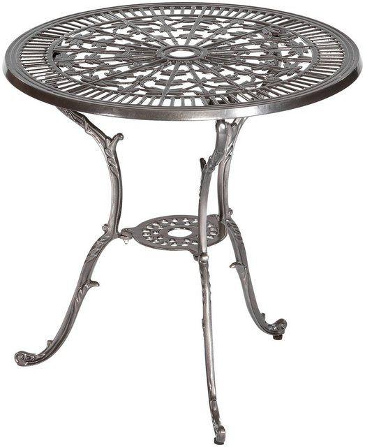 Gartenmobelset Lugano 5tlg 4 Sessel Tisch Aluminium Tisch