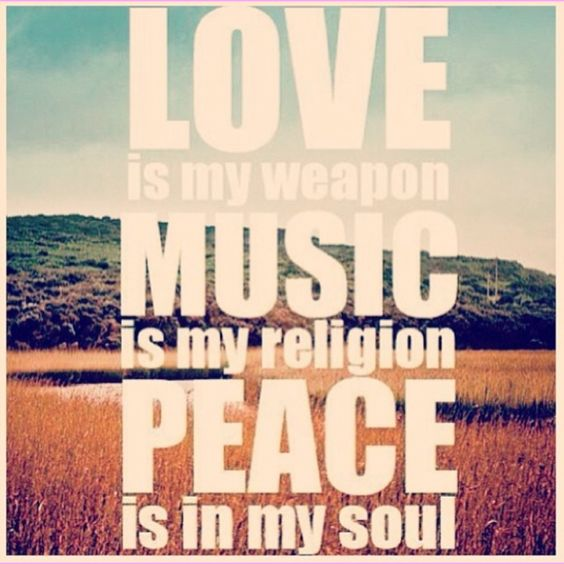 Peace Love Quotes Download: Pinterest • The World's Catalog Of Ideas