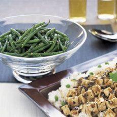 -Seared Sesame Green Beans | Recipes | Pinterest | Green Beans, Beans ...