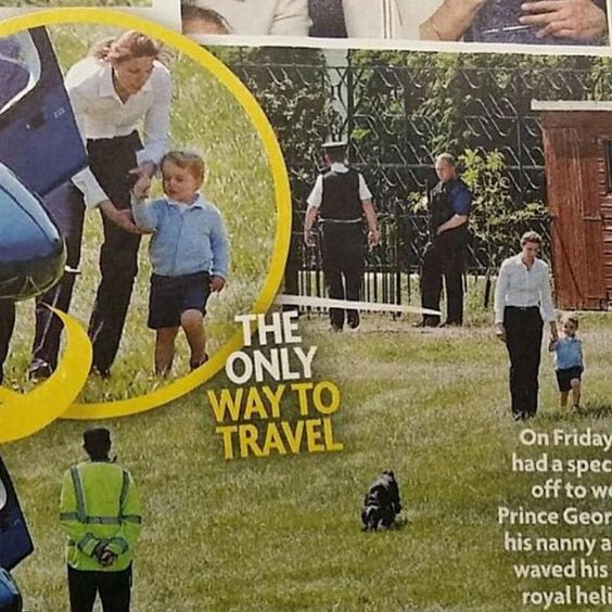 In case you didn't see these sweet photos of #PrinceGeorge, he saw #PrinceHarry off on June 12th. #DuchessKate #DuchessofCambridge #KateMiddleton #PrincessKate