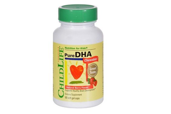 Childlife Pure Dha Berry - 90 Softgels - Free Of Dairy, gluten, eggs, yeast, wheat
