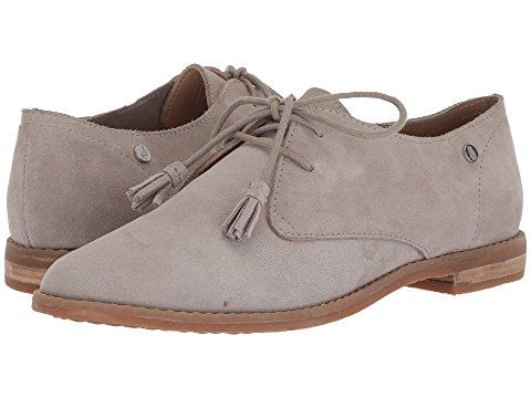Zappos Hush Puppies Oxford Ice Grey Suede Nike Shoes Women