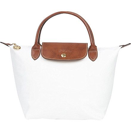 LONGCHAMP Le Pliage small handbag in white (White