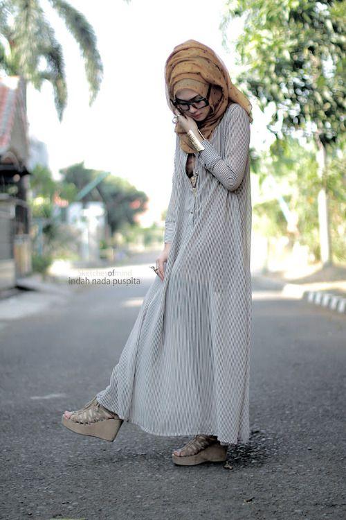 hijab style: