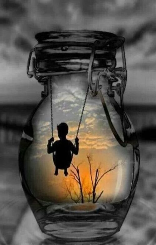 Yes....wouldn't it be nice to have captured our youth and be able to pull it out of a bottle to relive it at our leisure......