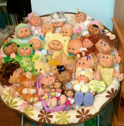 My new collection of cpk dolls.