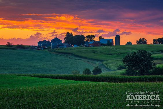 Sunrise After The Storm | by Silos & Smokestacks National Heritage Area