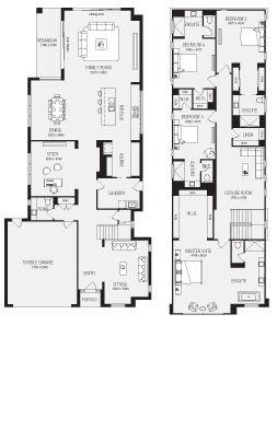 aria new home floor plans interactive house plans plans 2 metricon santorini 31