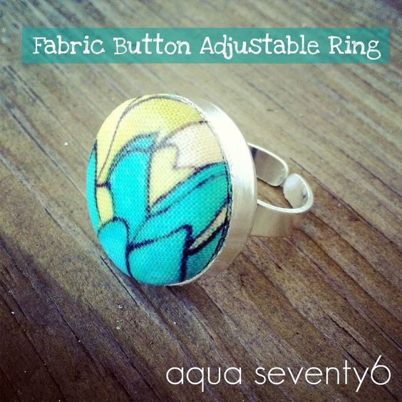 DIY Fabric Ring