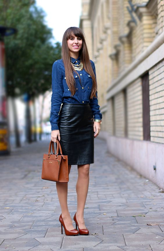 How to Spruce up your Dreary Work Interview Outfit | To be, Denim ...