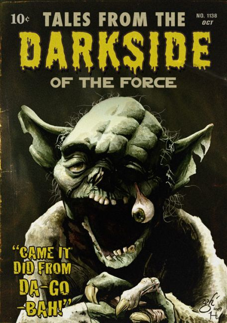 #starwars #yoda  Tales from the Darkside of the force!