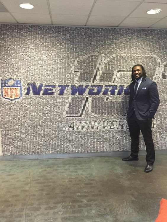 Had a blast at NFL Network today!!!!