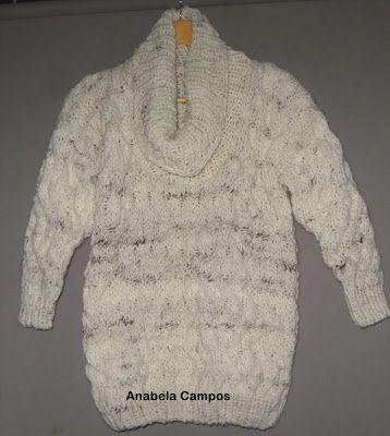 .: Camisola em lã poveira