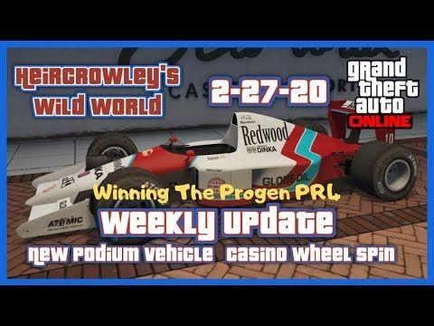Gta Online New Podium Vehicle Weekly Update Casino Wheel Spin 2 27