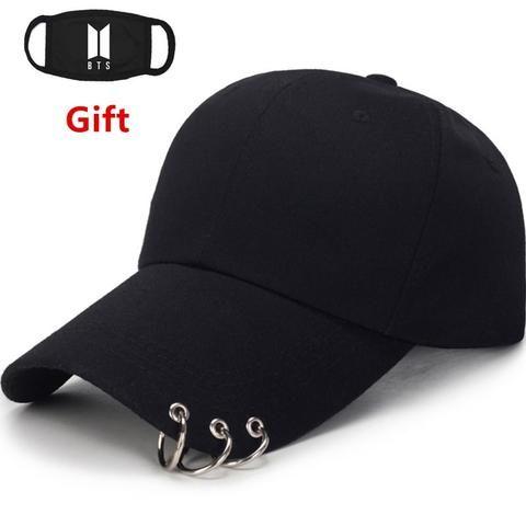 US Men Women Solid Baseball Cap Plain Bboy Snapback Hip-Hop Hat Adjustable