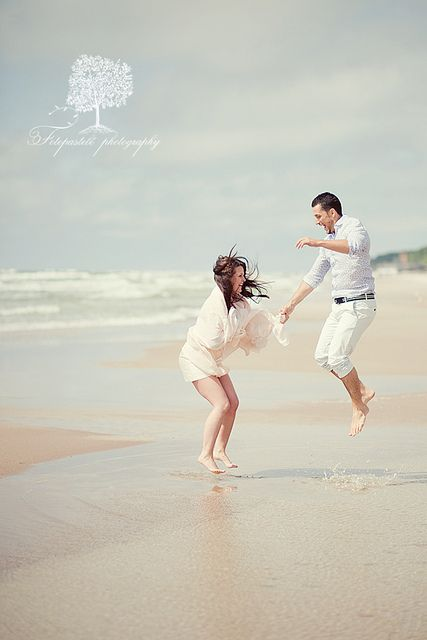 beach.: Couples Engagement Photography, Engagement Photos, Flickr Photo, Beach Tranquility, At The Beach, On The Beach, Happy Weekend, Beach Life, Love Romance