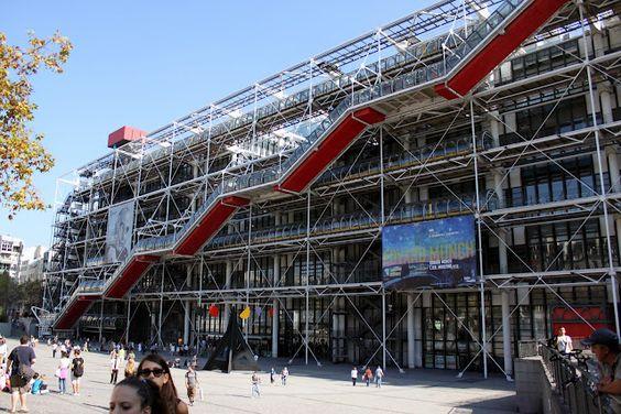 достопримечательности Парижа центр Помпиду http\/\/visiterfrance