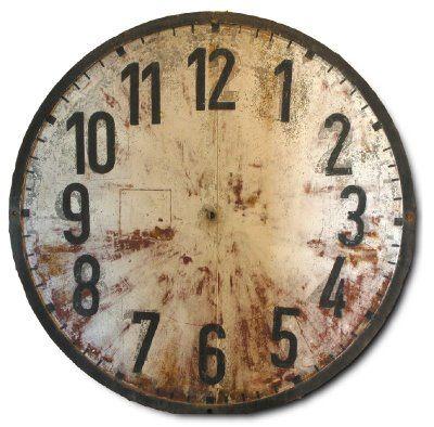 Free Vintage Clock Face Printable