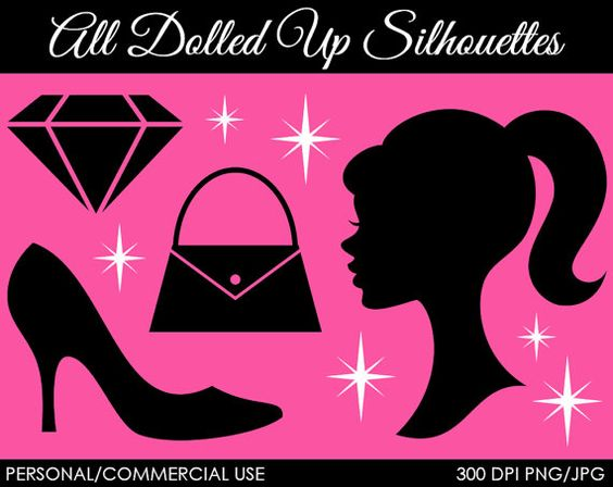 All Dolled Up Clipart  Digital Clip Art Graphics by MareeTruelove, $3.00