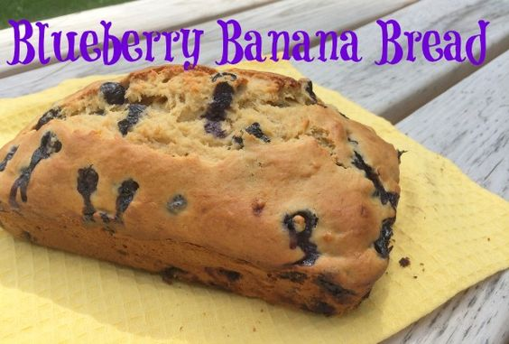 Blueberry Banana Bread--www.nepamom.com