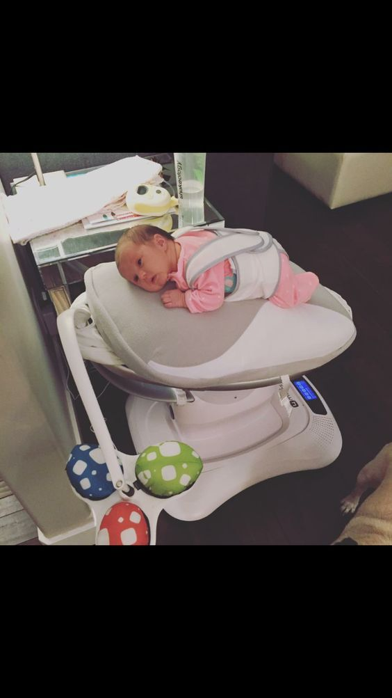 4moms Mamaroo Bouncing Swing Review It Is Meant To Help Baby Learn How To Self Sooth Without Having To Cry It Out Baby Necessities Baby Gadgets Baby Nursery