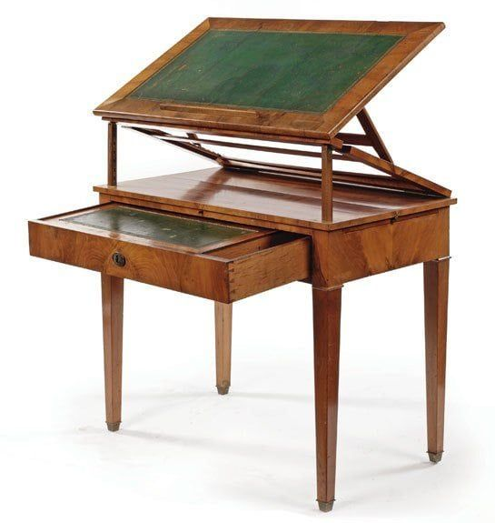 A Bit Of History The Architect S Table Architect Table Antique