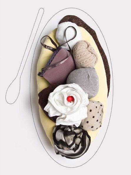Katrin Schacke - Konzeption & Gestaltung  #foodstyling #fashion #clothing #dessert #icecream