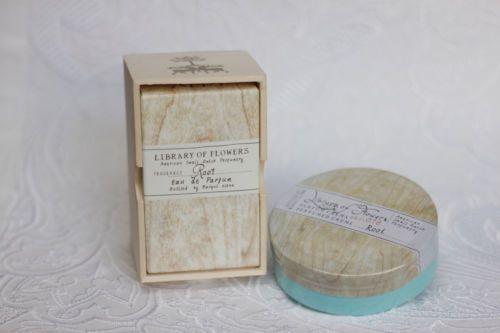 LIBRARY OF FLOWERS Small Batch Perfumery - ROOT EDP PERFUME - 1.69oz & CREME 2.5oz by MARGOT ELENA