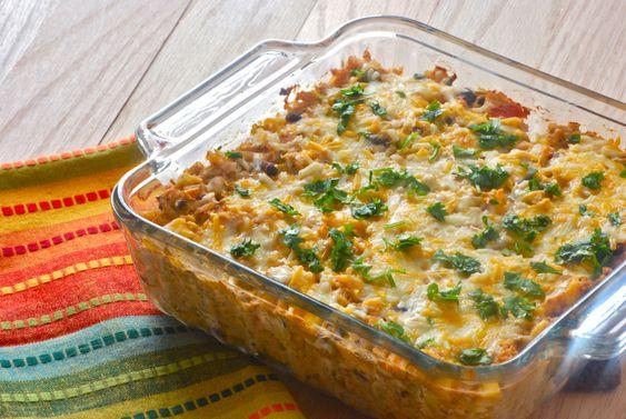 Southwest Chicken Burrito Bake | Chicken burritos ...