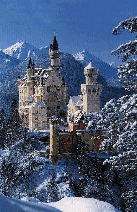Neuschewanstein castle, Germany