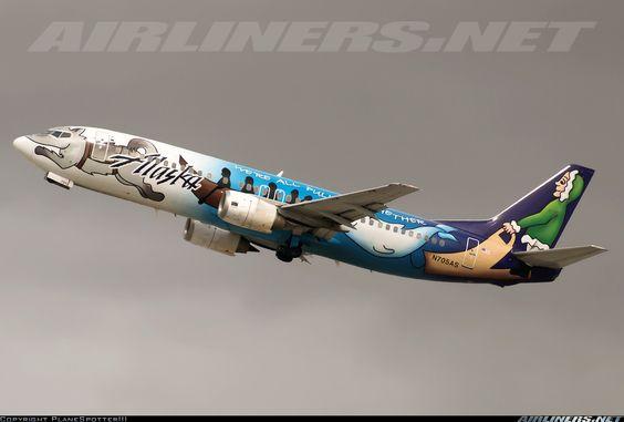 Boeing 737-490 (N705AS)