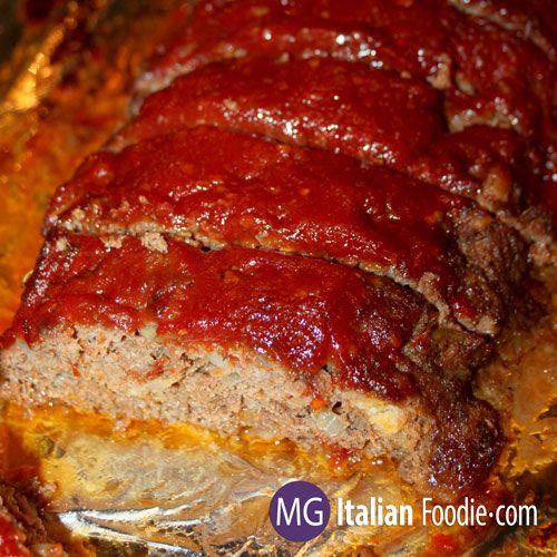 Super Moist Meatloaf Mg Italian Foodie Recipe Meatloaf Recipes Homemade Meatloaf Meatloaf