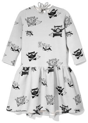 Kukukid Superhero Dress available for international delivery from online kids store www.alittlebitofcheek.com.au