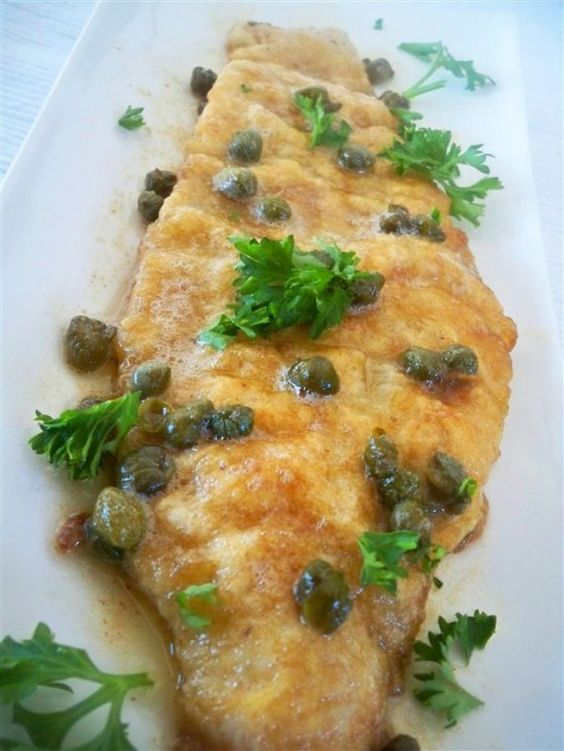 Dover Sole With Caper Butter | BENNY'S FOOD PORN | Pinterest | Dovers ...